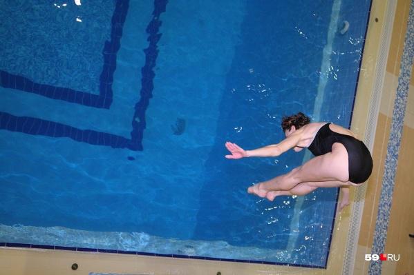 Дорожки в новом бассейне будут длиной 25 метров