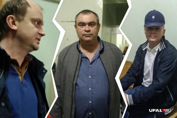 Троих обвиняемых взяли под стражу в зале суда