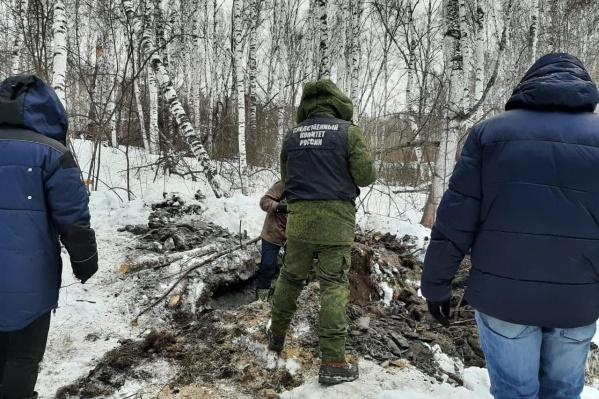 Следователи ищут тело, которое женщины закопали в лесу