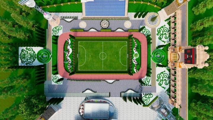 Андрей Симановский передумал делать дворцовый фасад для школы на Вторчермете. Но будет кое-что другое
