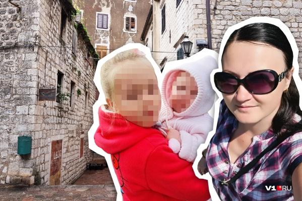 У Екатерины могут забрать ее дочерей