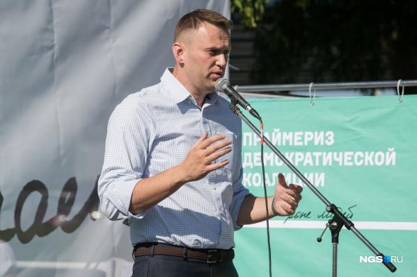 Алексей Навальный находится в колонии с февраля