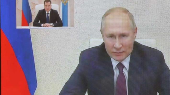 Цыбульский пообщался с Путиным о планах на 2021 год: о чем говорили