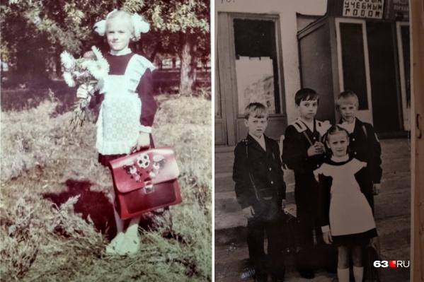 Форма и портфель — обязательный атрибут советского школьника