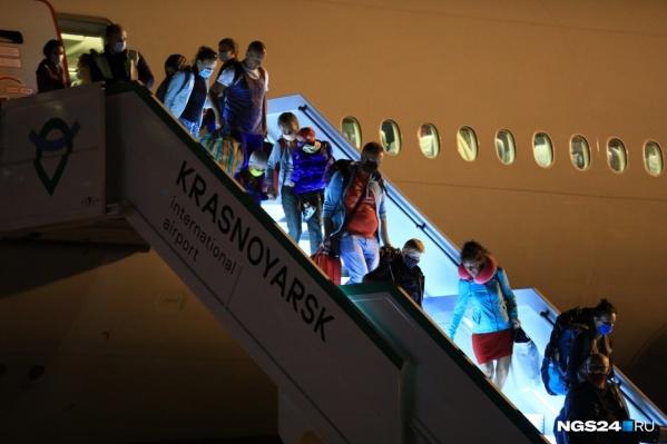 В Красноярске каждый день наблюдаются задержки рейсов