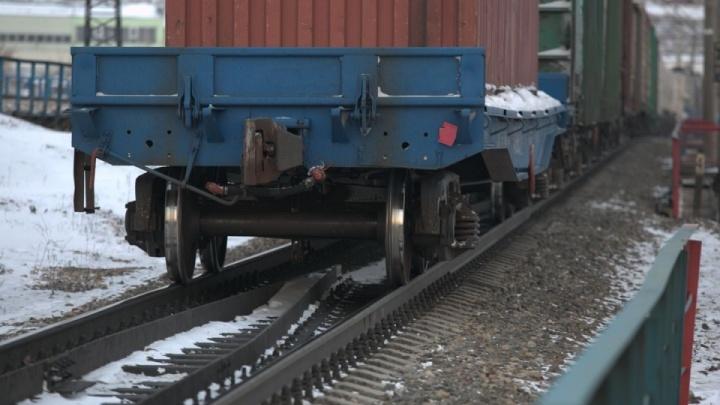 В Красноярском крае с рельсов сошли 26вагонов грузового поезда. Изменены маршруты поездов вАбакан