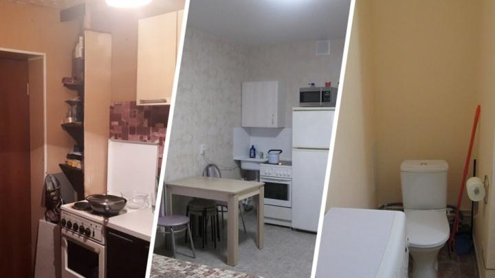 Кухня в коридоре и унитаз в уголке: публикуем подборку самых маленьких «однушек» Самары