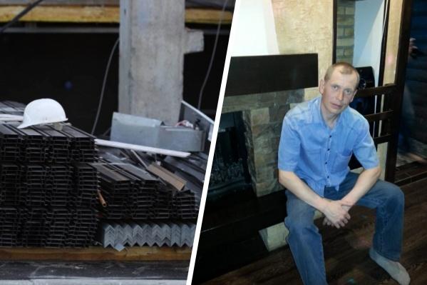 Роман Жигайлов пострадал сильнее всего во время инцидента на стройке