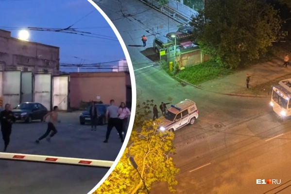 Нападавшие сбежали до приезда полиции