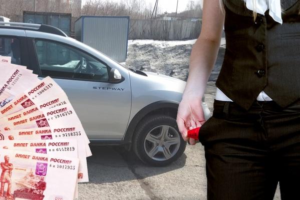 """Сибирячка купила машину в два раза дороже, чем <nobr class=""""_"""">планировала, —</nobr> на это ее уговаривали целый день три менеджера. Женщина считает, что ее обманули"""