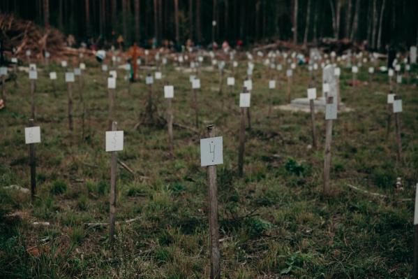Ежегодно на кладбище хоронят около 210 тел