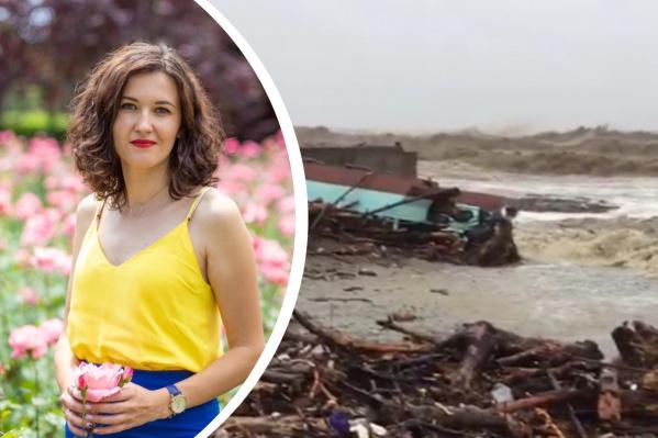 По словам Татьяны, такого потопа Сочи не видел с 2015 года