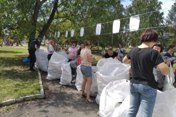 Акции по раздельному сбору мусора в Челябинске проводят каждое третье воскресенье месяца на 15 точках