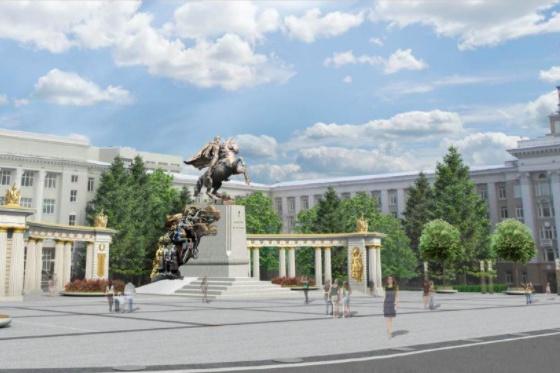Глава Башкирии считает, что без колоннады памятник будет смотреться блекло