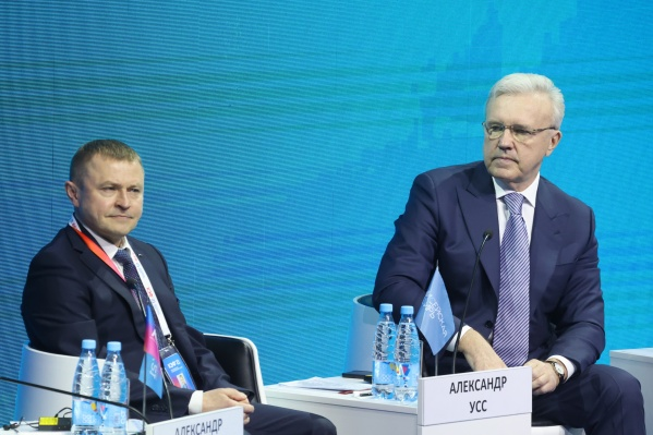 """После вечера в Москве губернатор открывал деловую часть форума <nobr class=""""_"""">14 апреля</nobr>"""