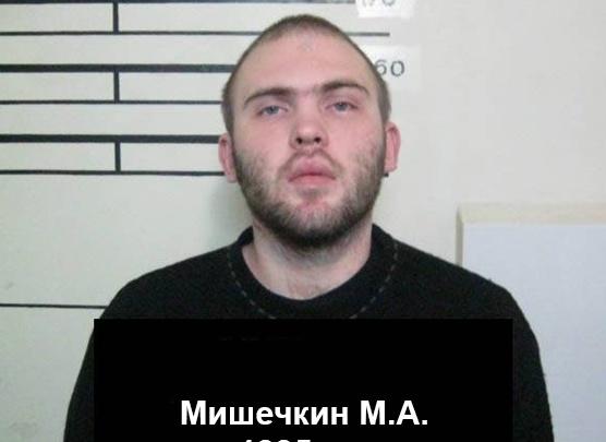 В Омске разыскивают сбежавшего преступника с татуировкой в виде снежинки