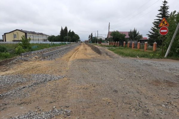 Так выглядит большая часть дорог в Ингалинке