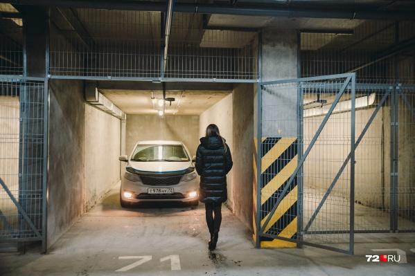 Вы часто оставляете авто на крытом паркинге?