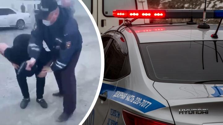 «Выстрел был непроизвольным»: СК возбудил дело после того, как сотрудник ДПС ранил 19-летнего парня