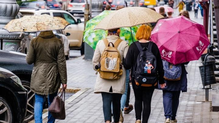 На неделе Прикамье ждут дожди и похолодание