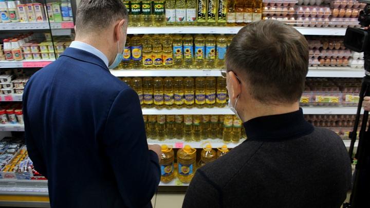 1000 проверок в неделю: новосибирские власти показали, как они борются с ростом цен на продукты