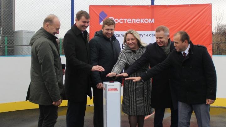«Ростелеком» в Ярославской области запустил первую базовую станцию для мобильной связи