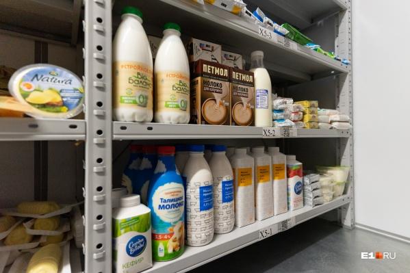 Молоко особенно подорожало в Екатеринбурге и Нижнем Тагиле