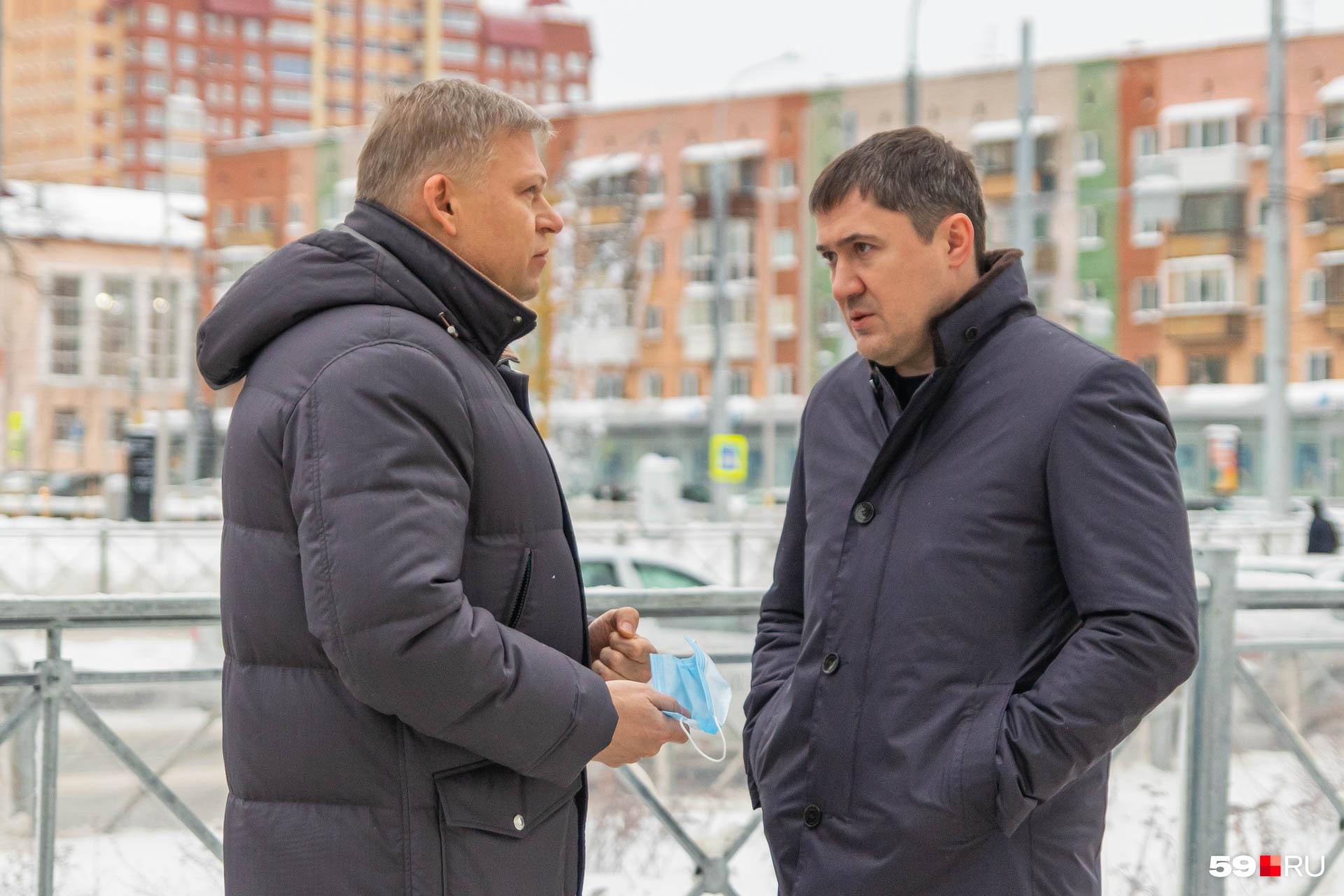 Алексей Дёмкин и Дмитрий Махонин
