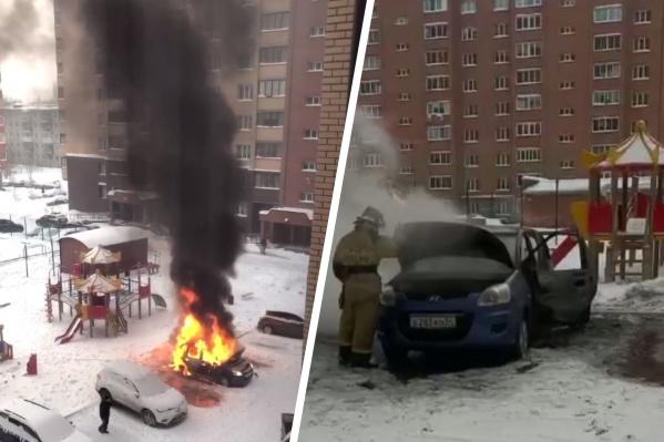 """Инцидент произошел днем на <nobr class=""""_"""">Российской, 21</nobr> в Академгородке"""