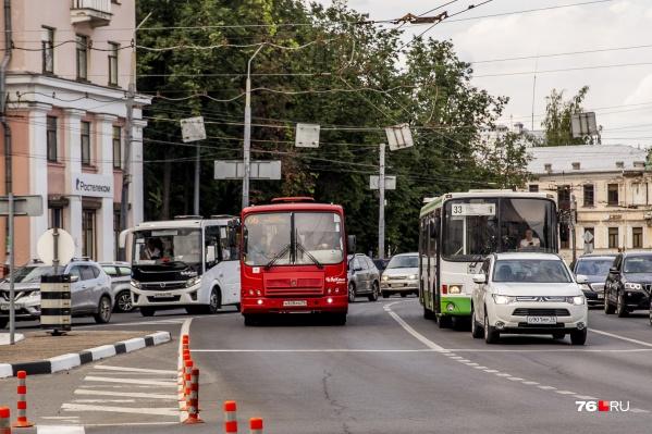 После изменения транспортной схемы в Ярославле начались проблемы с графиком движения автобусов