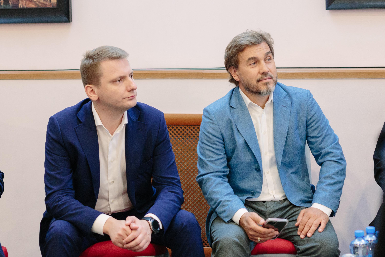 Юрий Куликов и Дмитрий Павлов
