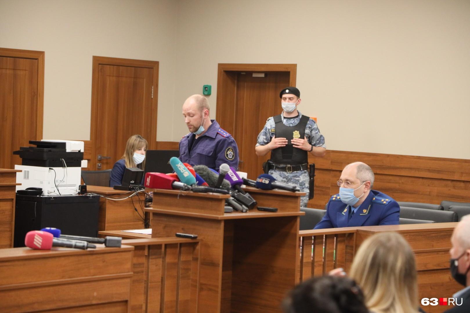 Следователь просит арестовать Галявиева