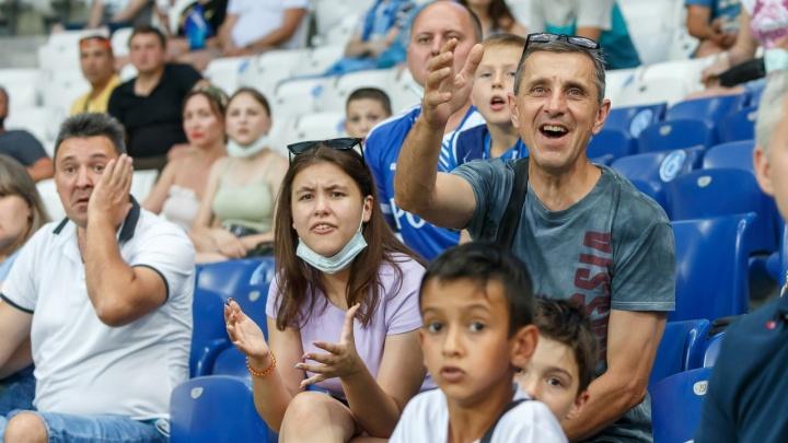 «Они VIP-люди?! Или мы шутка для вас?»: матч «Ротор» — «Балтика» на «Волгоград Арене» пройдет без зрителей