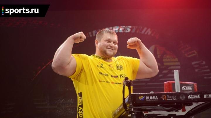 Чемпион мира по армрестлингу из Красноярска попался на выбивании долгов