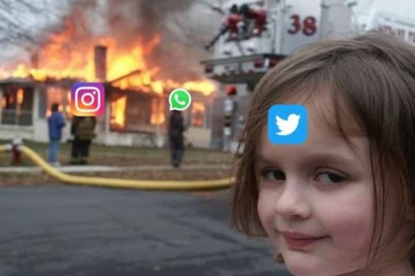 Пока все мемы держатся на Twitter