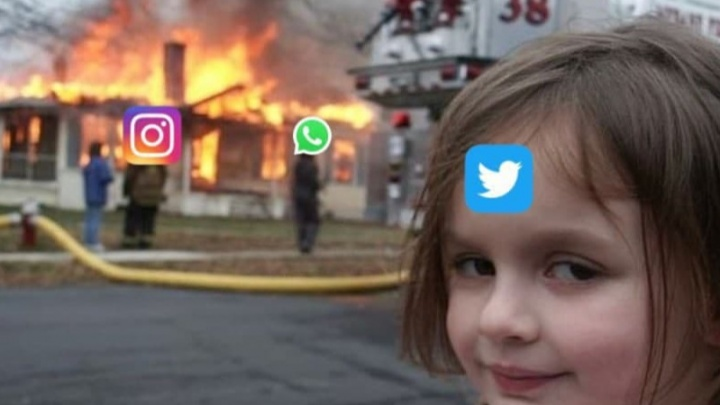«Цукерберг, заплати за интернет уже». Только мемы о падении Facebook, Instagram и WhatsApp