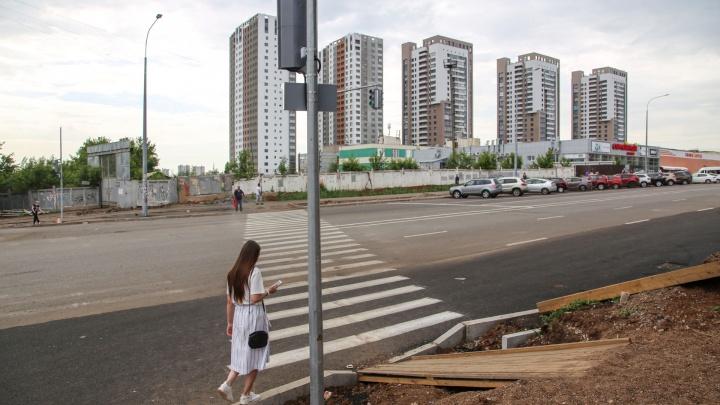 Движение на улице Комсомольской в Уфе полностью откроют 1 сентября