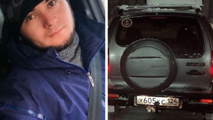 ГИБДД раскрыла детали похищения таксиста: его избили и возили в салоне по Красноярску