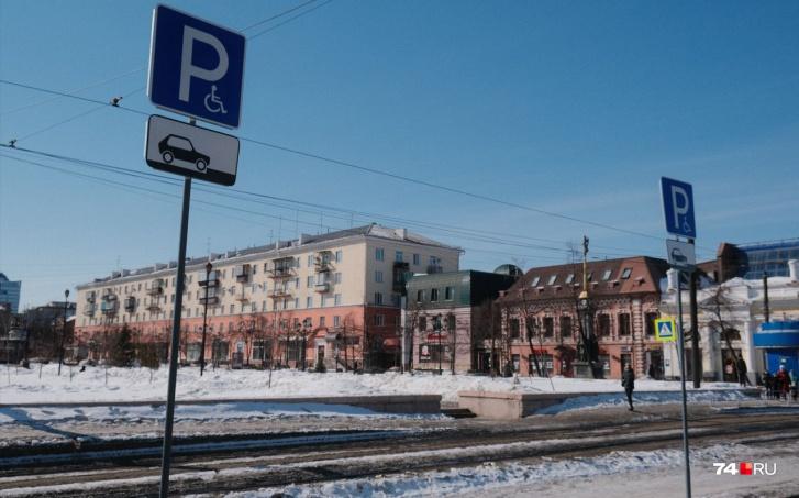 Издалека понять назначение парковки непросто