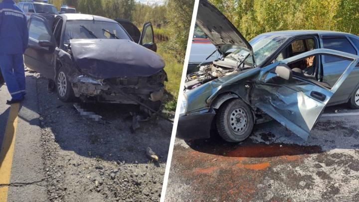 В Октябрьском районе двухмесячный ребенок пострадал в аварии