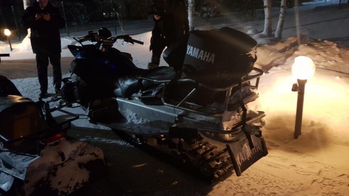 Под Богородском водитель снегохода сбил человека и скрылся с места происшествия