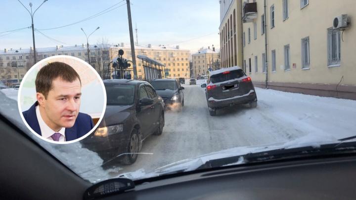 «Мы живем в России»: мэр Ярославля свалил вину за плохую уборку дорог на зиму