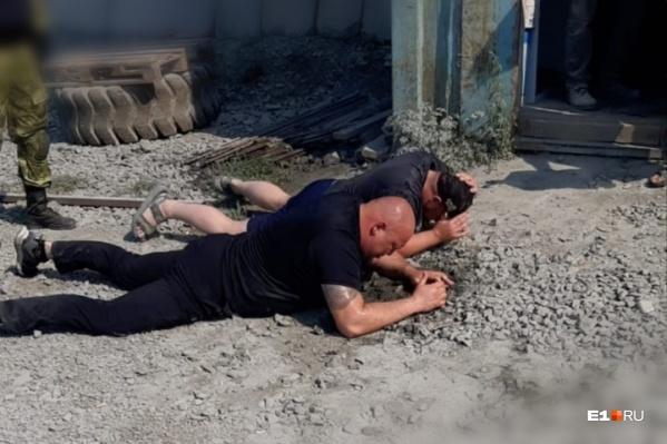 Бывшие охранники Татьяны Русиной были судимы за стрельбу холостыми патронами из автоматов в Березовском