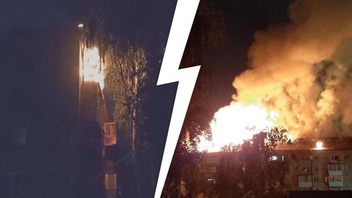 Адский пожар в центре Екатеринбурга унес две жизни. Показываем, с чего он начался