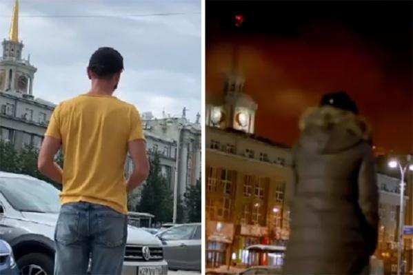 В своих роликах блогер показывает места Екатеринбурга, которые попали в кино