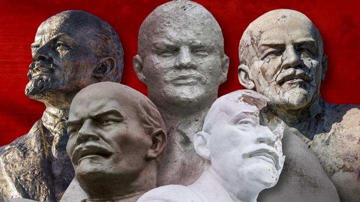 А глаза у всех добрые-добрые: смотрим, как по-разному выглядит Ленин в Волгограде и Волгоградской области
