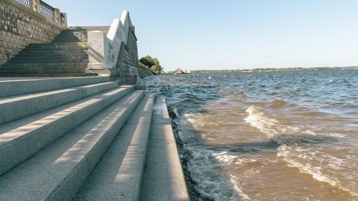 В Самарской области резко увеличится уровень воды в Волге