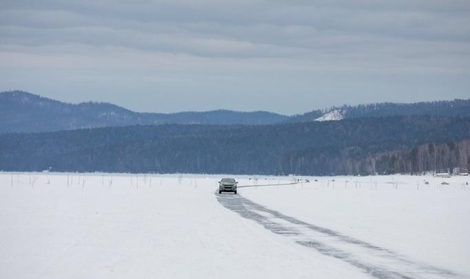 На Красноярском водохранилище два рыбака провалились под лед в полынье