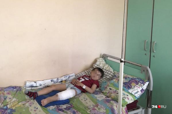 Пятилетний мальчик сейчас восстанавливается после операции в областной детской больнице