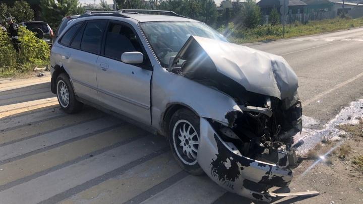 В Верхней Пышме парень угнал автомобиль и попал на нем в ДТП